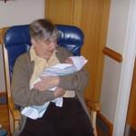 Maya with Grandma Carmel