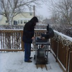 Grilling in a Blizzard