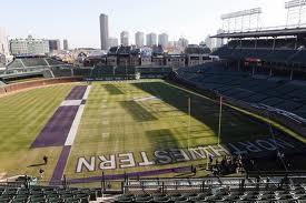 Northwestern Football At Wrigley Field