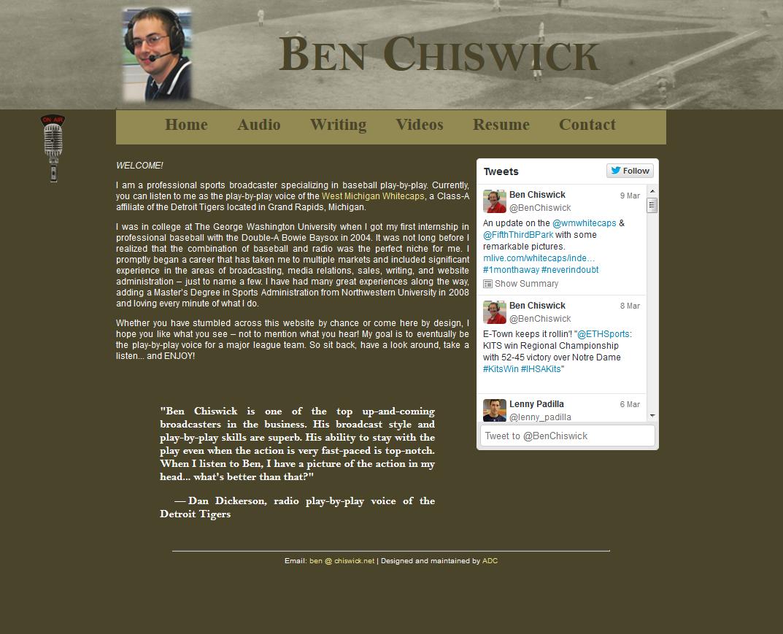 Ben.Chiswick.net